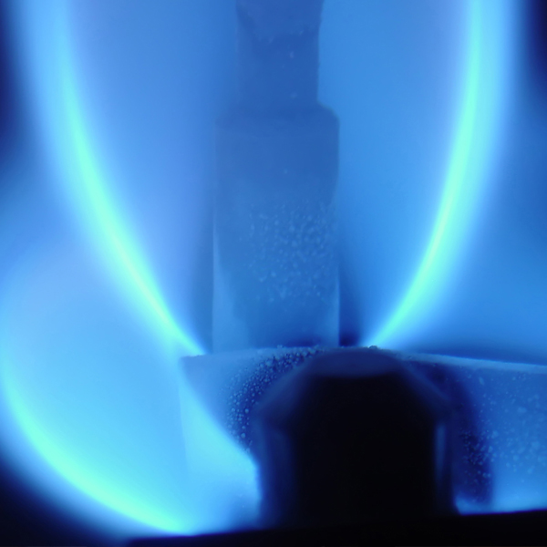 Thumbnail photo depicting a boiler firing up after installation.
